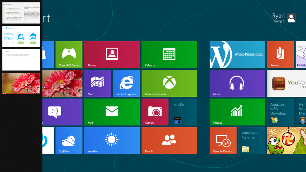 Windows 8 Screenshots (2/3)