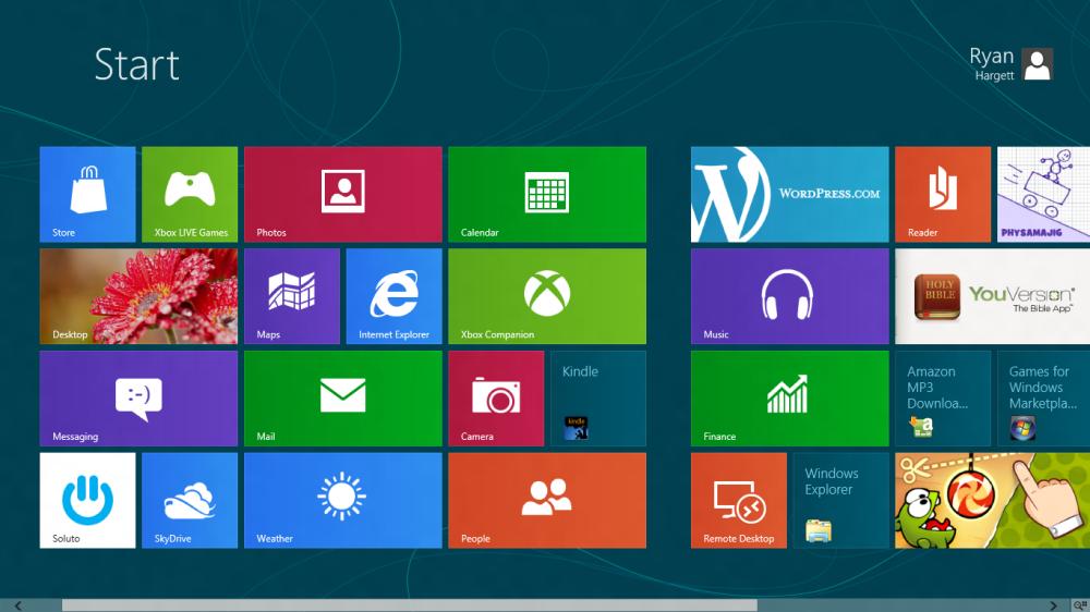 Windows 8 Screenshots (3/3)